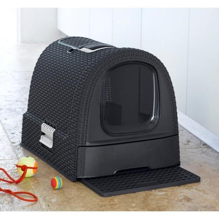 curver litiere maison de toilette chat khenghua. Black Bedroom Furniture Sets. Home Design Ideas