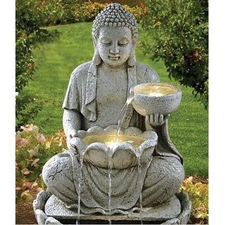 Bouddha pour le jardin khenghua for Bouddha pour jardin