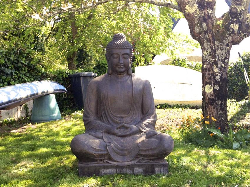 Statue bouddha pour jardin khenghua - Statue moderne pour jardin ...