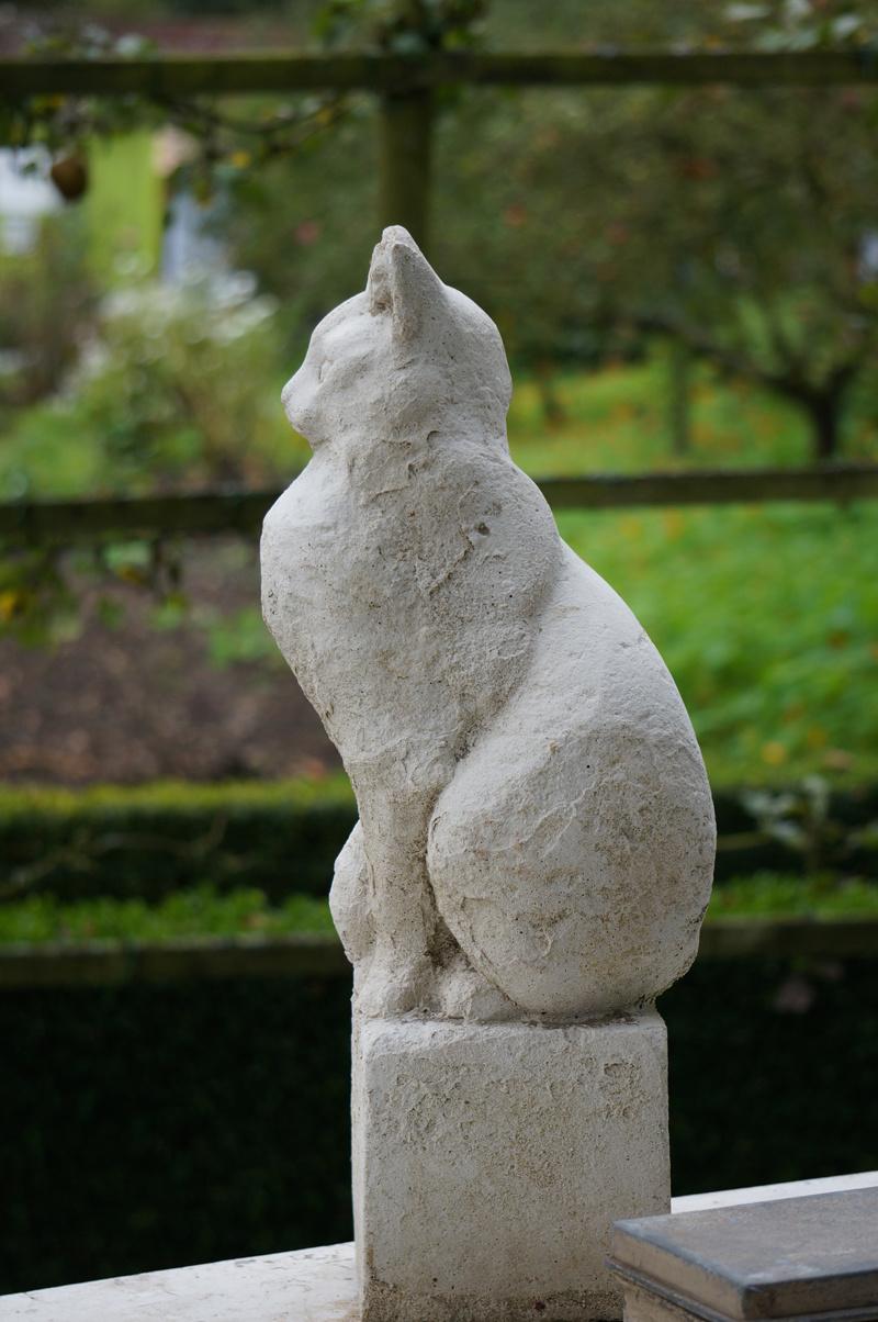 Statue de chat pour jardin khenghua for Statue japonaise pour jardin