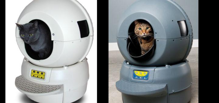 litiere pour chat autonettoyante