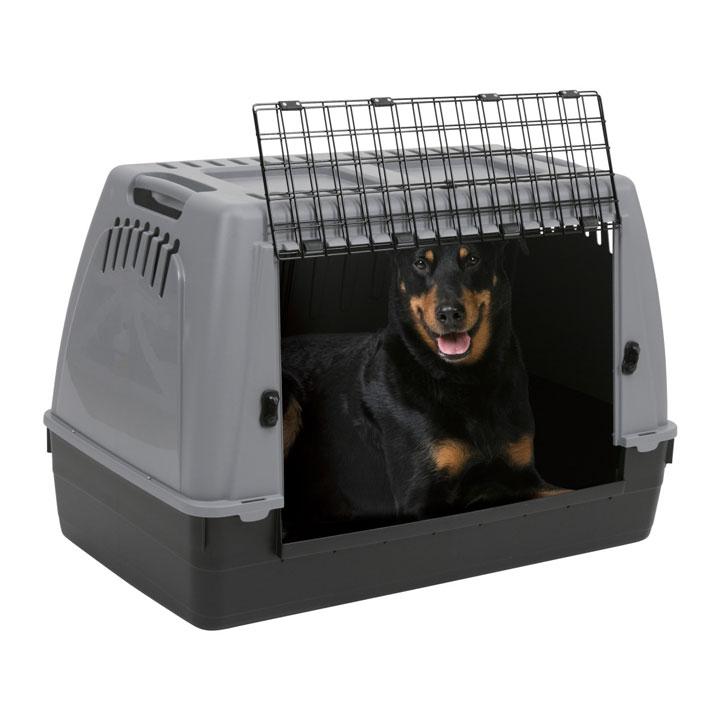 cage de transport pour chien pas cher khenghua. Black Bedroom Furniture Sets. Home Design Ideas