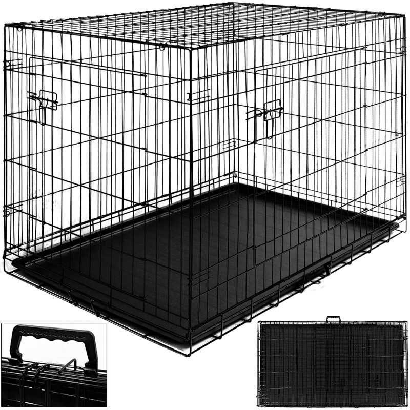 cage chien xxl khenghua. Black Bedroom Furniture Sets. Home Design Ideas