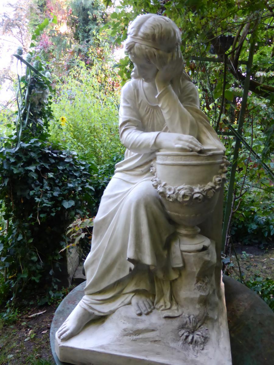 statue de jardin a vendre khenghua. Black Bedroom Furniture Sets. Home Design Ideas