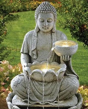 bouddha pour jardin zen exterieur khenghua. Black Bedroom Furniture Sets. Home Design Ideas