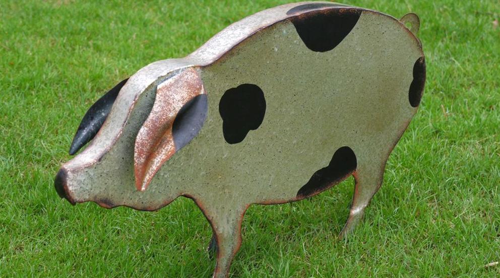 Deco jardin animaux khenghua - Decoration metal pour jardin ...