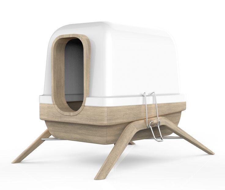 caisse pour chat design khenghua. Black Bedroom Furniture Sets. Home Design Ideas