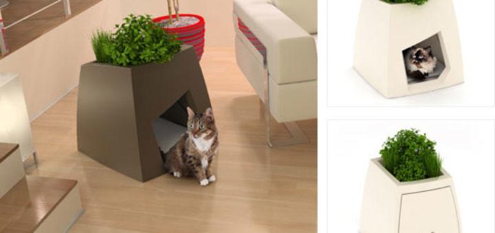 maison de toilette chat design khenghua