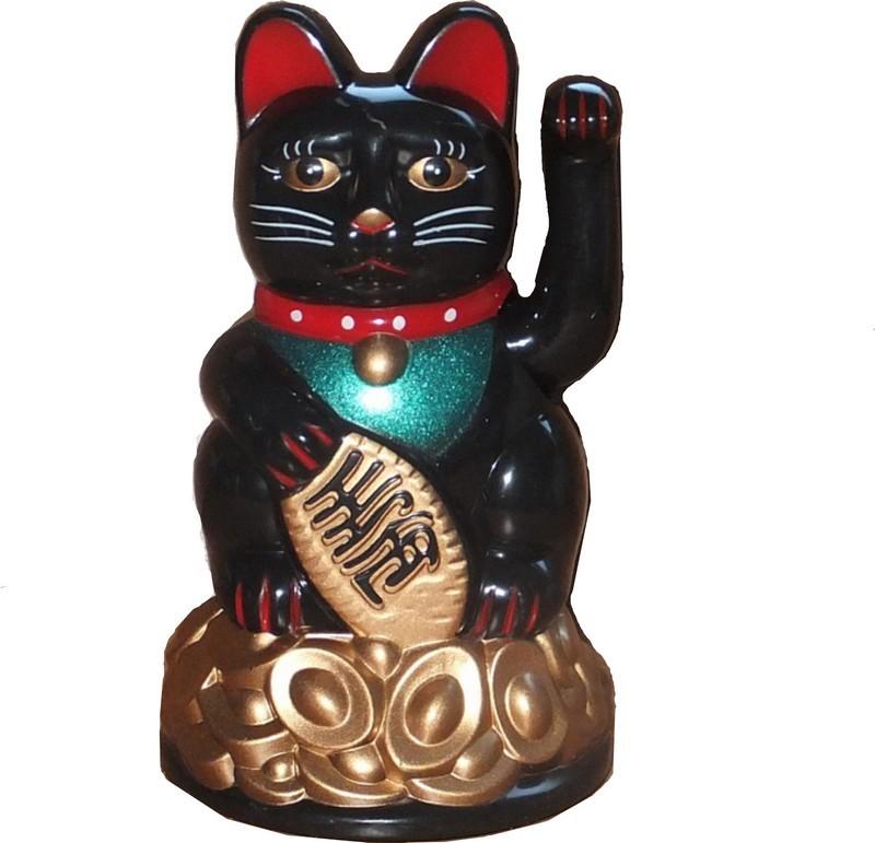 Nom chat chinois porte bonheur khenghua - Porte bonheur chinois chat ...