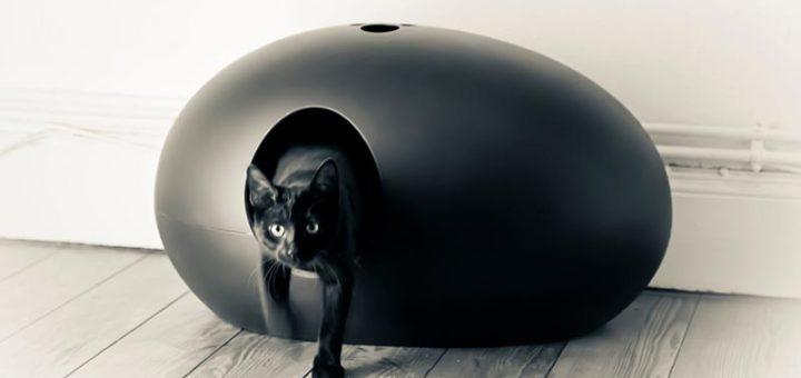 bac a litiere chat khenghua. Black Bedroom Furniture Sets. Home Design Ideas