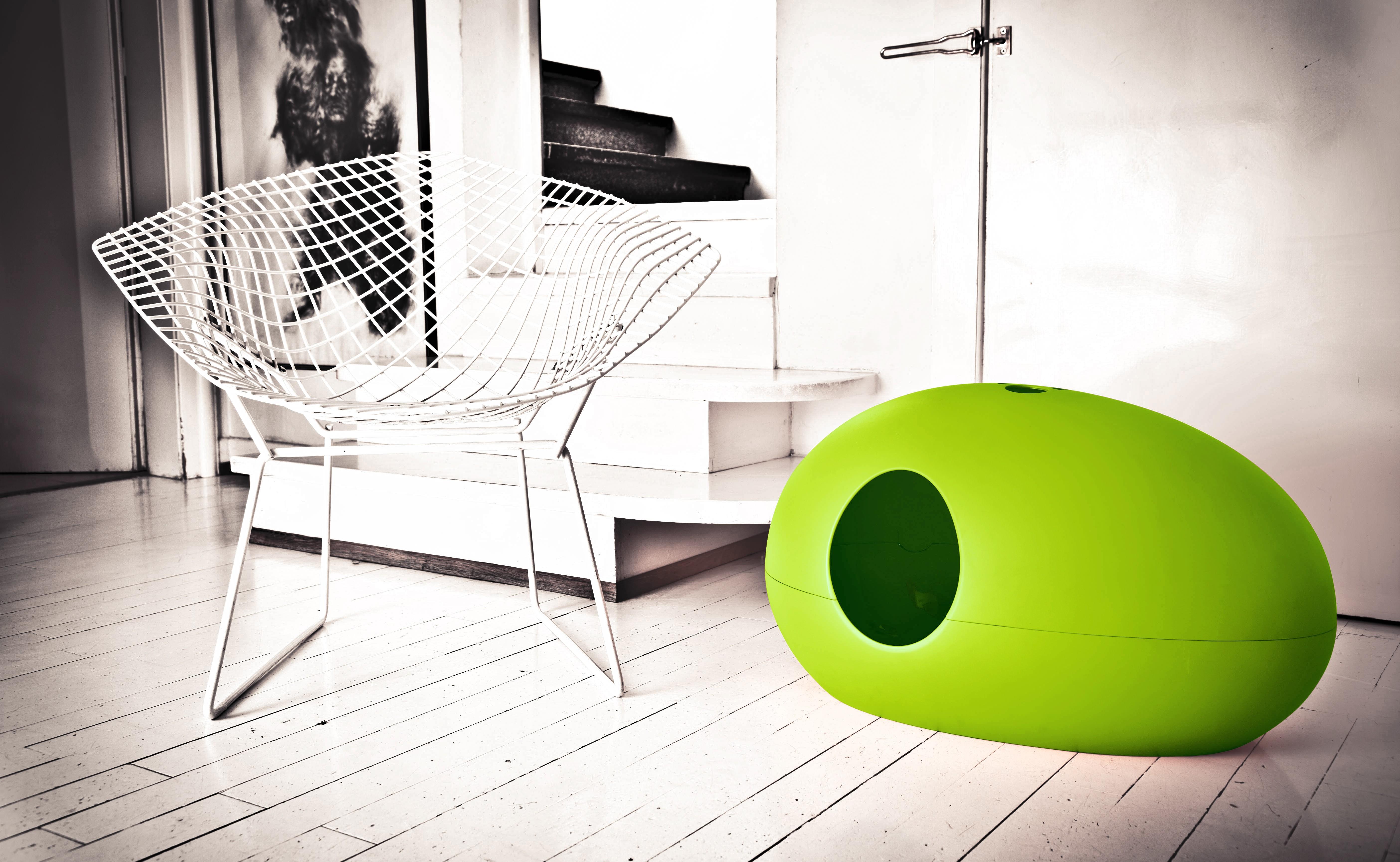 maison a litiere pour chat khenghua. Black Bedroom Furniture Sets. Home Design Ideas