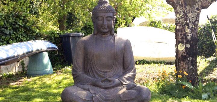 statue bouddha pour jardin khenghua. Black Bedroom Furniture Sets. Home Design Ideas