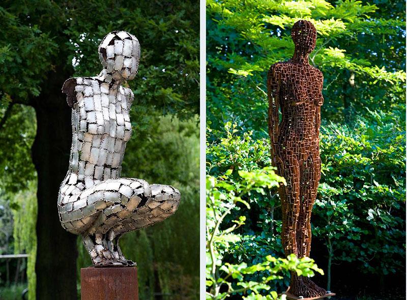 statue moderne de jardin khenghua. Black Bedroom Furniture Sets. Home Design Ideas