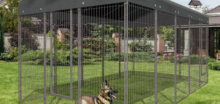 cage pour chien pas cher khenghua. Black Bedroom Furniture Sets. Home Design Ideas